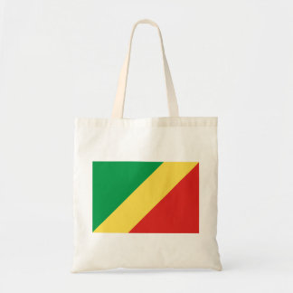Congo National World Flag Tote Bag