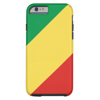 Congo National World Flag Tough iPhone 6 Case