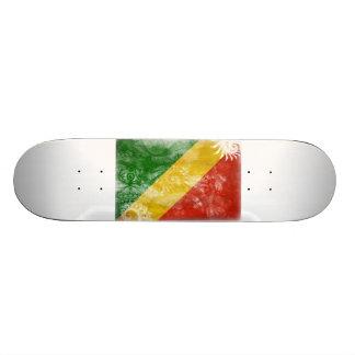 Congo Republic Flag Skateboard Deck