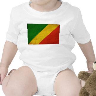 Congo Republic Flag Romper