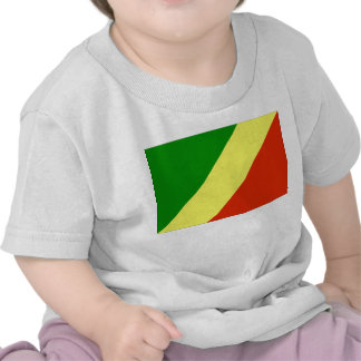 Congo Republic Flag T-shirts