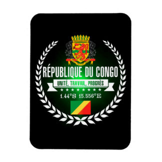 Congo Republic Magnet