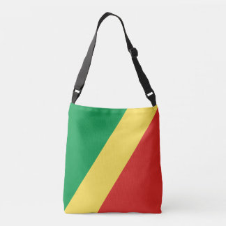 Congo - Republic of the Congo Flag Crossbody Bag