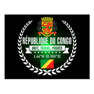 Congo Republic Postcard