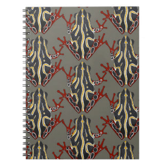 congo tree frog spiral note book