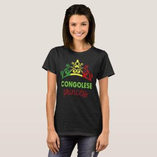 Congolese Princess Tiara National Flag T-Shirt