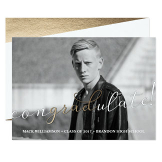 Congradulate Graduation Party Card