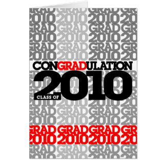 conGRADulations Class of 2010  Red Card