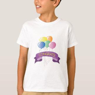 Congrats Balloons T-Shirt