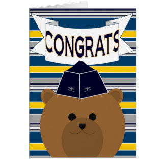 Congrats for Your Favorite Air Force! Card
