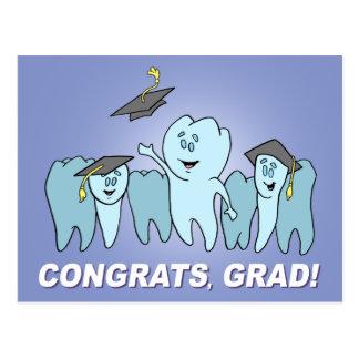 Congrats, Grad! Card Postcard