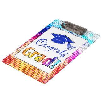 Congrats Grad Colors, Fun Clipboards