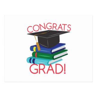 Congrats Grad Postcard