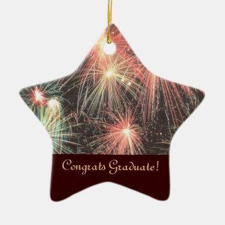 Congrats Graduate Star Ornament