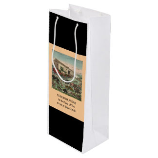 Congrats on New Condo - Fun Wine Gift Bag