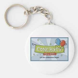 Congrats on the new baby keychain