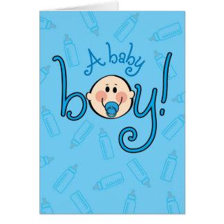 Congrats on your Baby Boy! Oh boy! Oh boy! Card