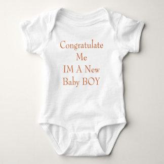 Congratulate MeIM A New Baby BOY Tees