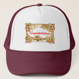 Congratulations 2 trucker hat