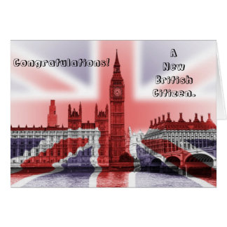 Congratulations! A new British Citizen Card