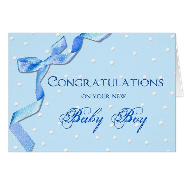 congratulations with baby boy