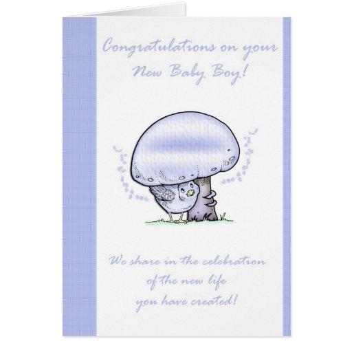 Congratulations Baby Boy Card, New Baby