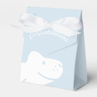 Congratulations boy baby favor box