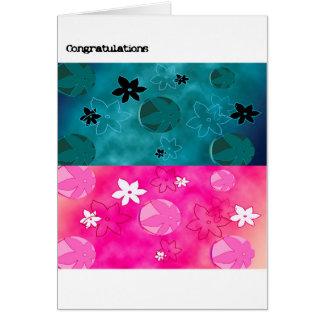 Congratulations Card - Floral Success
