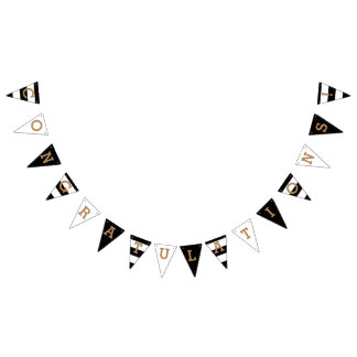 Congratulations | Chic Stripes Bunting