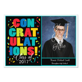 Congratulations! Customized Grad Announcement