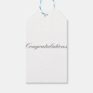 congratulations gift tags