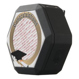 'Congratulations' Gold Graduation Photo Frame Black Boombot Rex Bluetooth Speaker