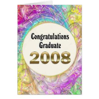 Congratulations Graduate 2008 Greeting Card
