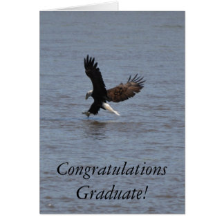 Congratulations Graduate ~ Bald Eagle Card