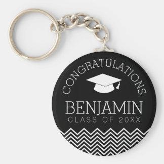 Congratulations Graduate - Personalized Graduation Key Ring