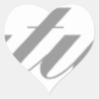 congratulations heart sticker