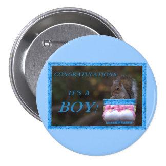 Congratulations… It's A Boy Pin