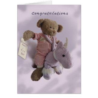 Congratulations-It's a Boy Greeting Card