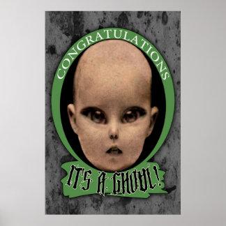 Congratulations, it's A Ghoul! Print