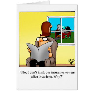 Congratulations New Home Humor Greeting Card