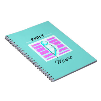 Congratulations Note, Musical Performance Notebooks