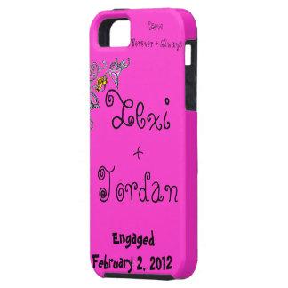 Congratulations of Engagement iPhone 5 Cover