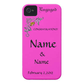 Congratulations of Engagement iPhone 4 Case-Mate Cases