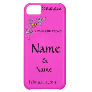 Congratulations of Engagement iPhone 5C Case