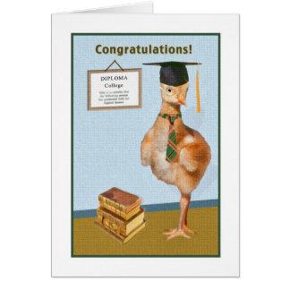 Congratulations on College Graduation Card