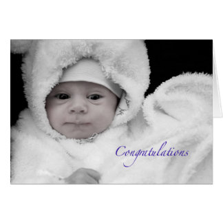 Congratulations on the Birth of a Baby Boy Cards