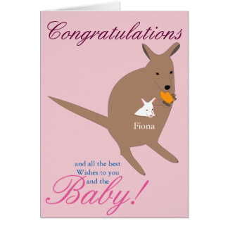 Congratulations on the Birth of your baby Card