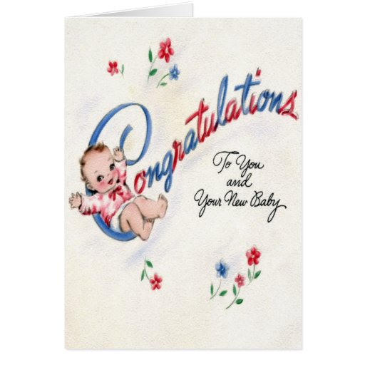 Congratulations on the New Baby Card