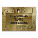 Congratulations On Your 50th Wedding Anniversary Greeting Cards