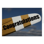 Congratulations on your First Solo Flight Pilot